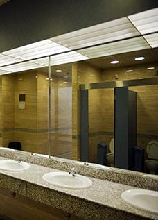 BATHROOM REMODELING - Commercial bathroom remodel